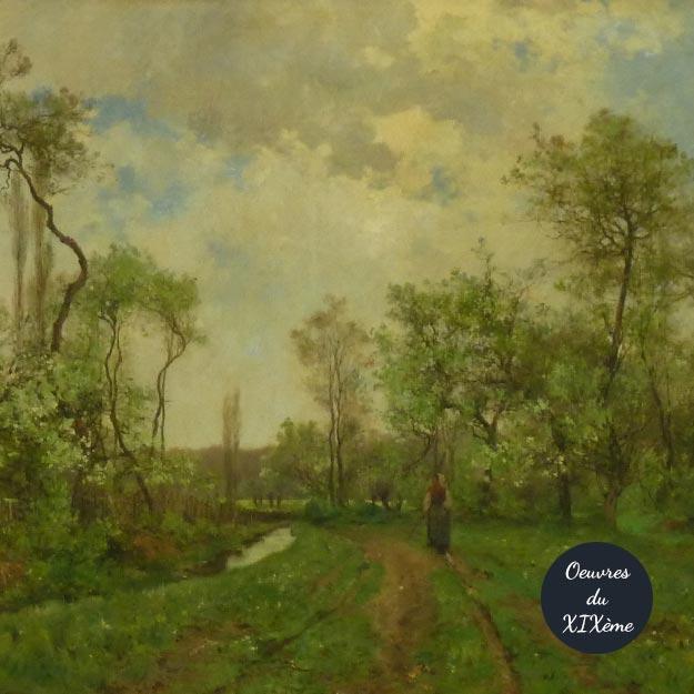 Oeuvres du XIXème siècle en Vallée de Chevreuse