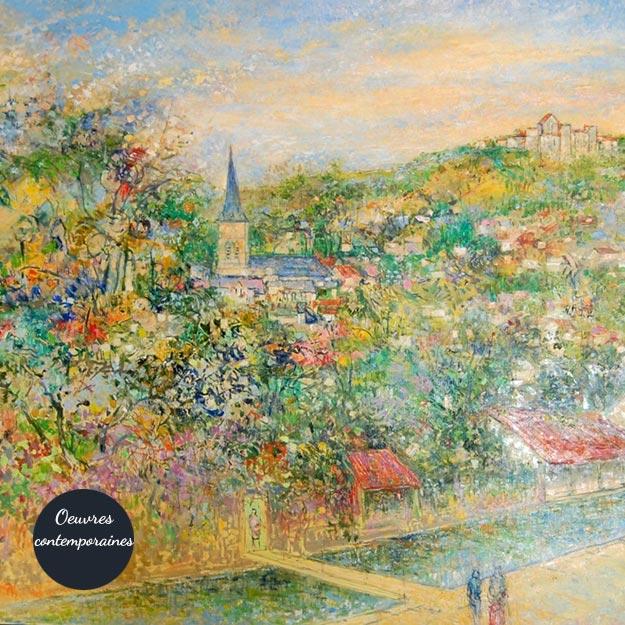 Galerie d'oeuvres contemporaines d'artistes travaillant en Vallée de Chevreuse