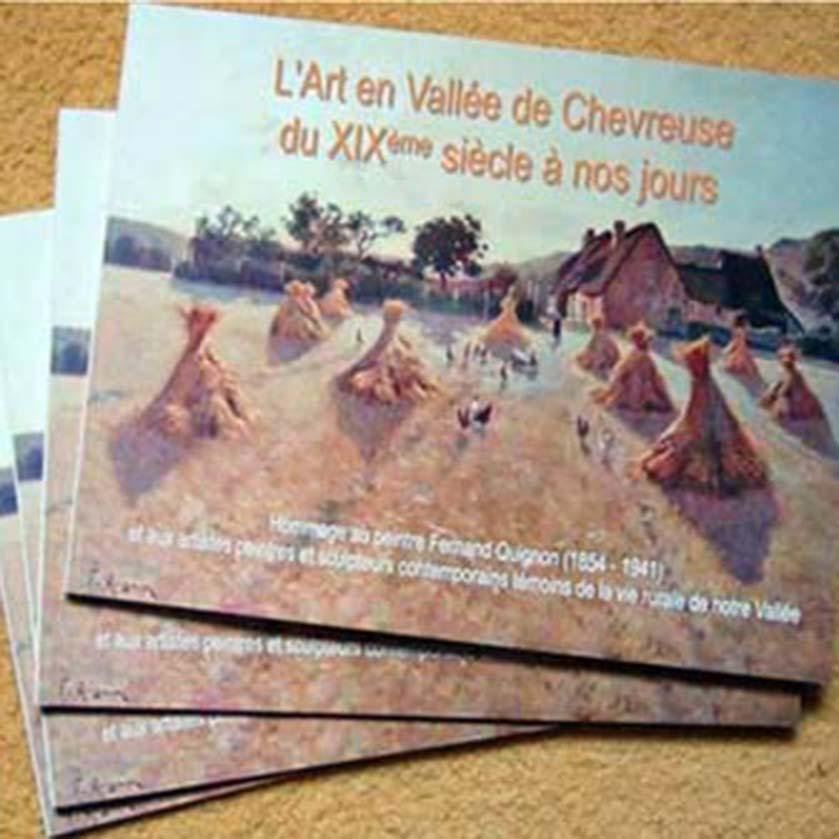 Parution de catalogues sur les peintres du XIXème par l'Association Peintres en Vallée de Chevreus