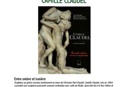 Affiche conférence Camille Claudel