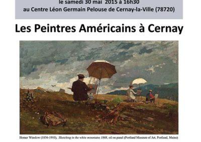 Conférence sur les peintres américains qui ont fréquenté la colonie de Cernay