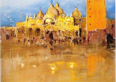 """Coquillay """"Saint Marc à Venise"""" pastel © Photo APEVDC"""