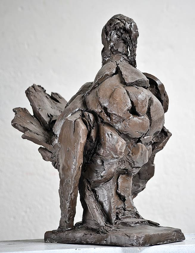 "Laurence Domenach sculpture ""Le Dindon"" © APEVDC"