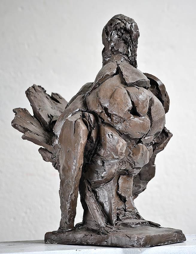 """Laurence Domenach sculpture """"Le Dindon"""" © APEVDC"""
