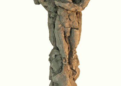 """Laurence Domenach sculpture """"Le Trio""""  prix du conseil général de l'Essonne en 2014 © APEVDC"""
