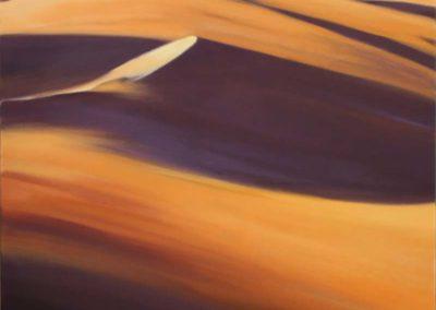 """Echavidre """" Dune à Merzouga """" 80 x80 HST © Photo APEVDC"""