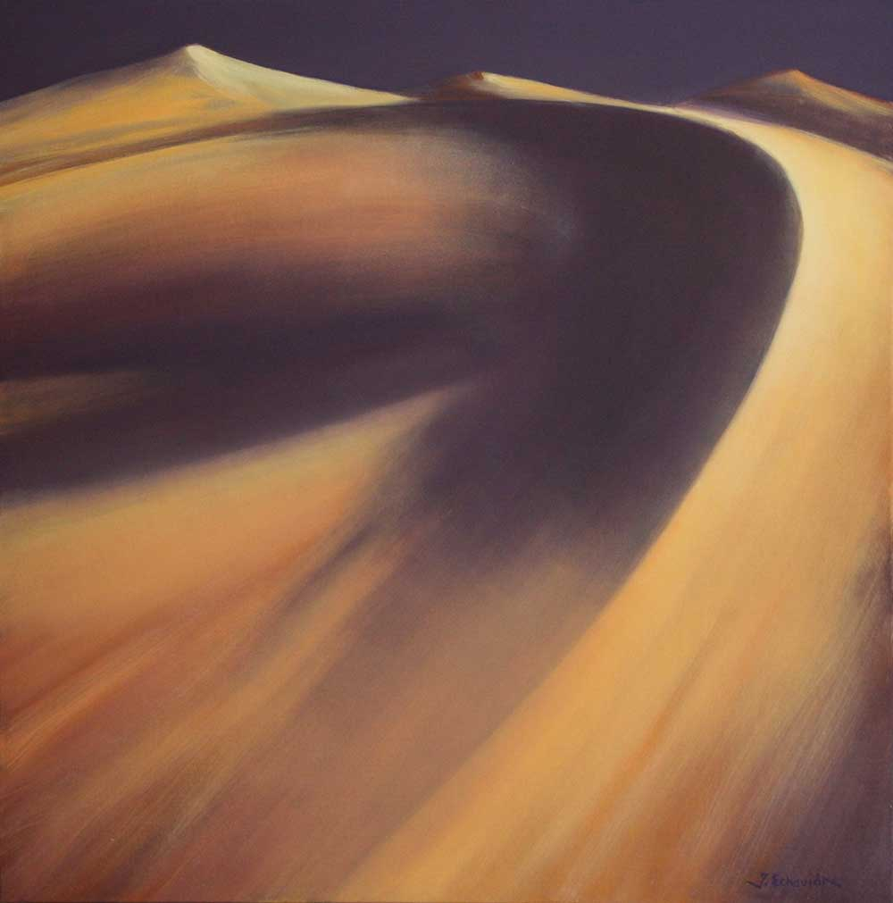 "Jacques Echavidre "" Dune à Merzouga "" HST © Photo APEVDC"
