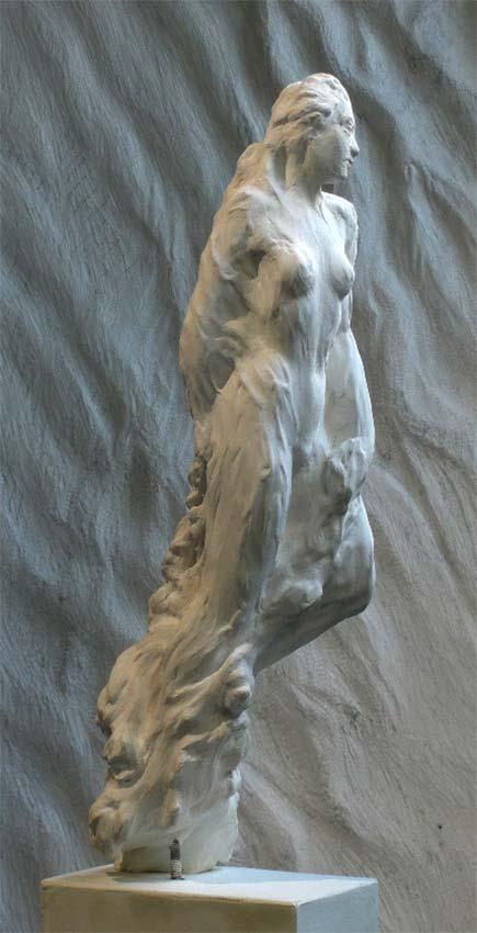 Sculpture de Jean Letourneur  © photo APEVDC