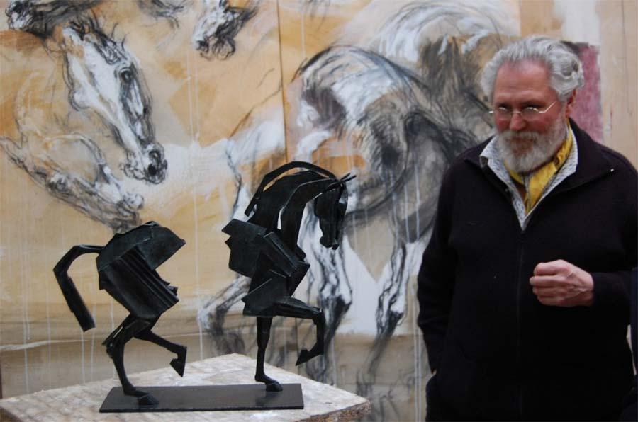 Jean Louis Sauvat exposition © photo APEVDC