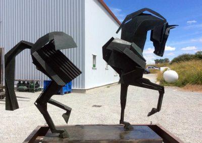 Jean Louis sauvat sculpture © Photo APEVDC