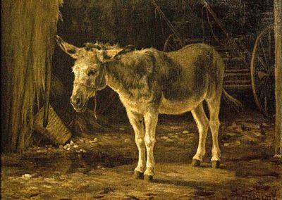 "Matilda Lotz ""The Donkey"" 1880 HST © Lotz House Museum"