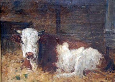 Huile sur toile William Henri Howe