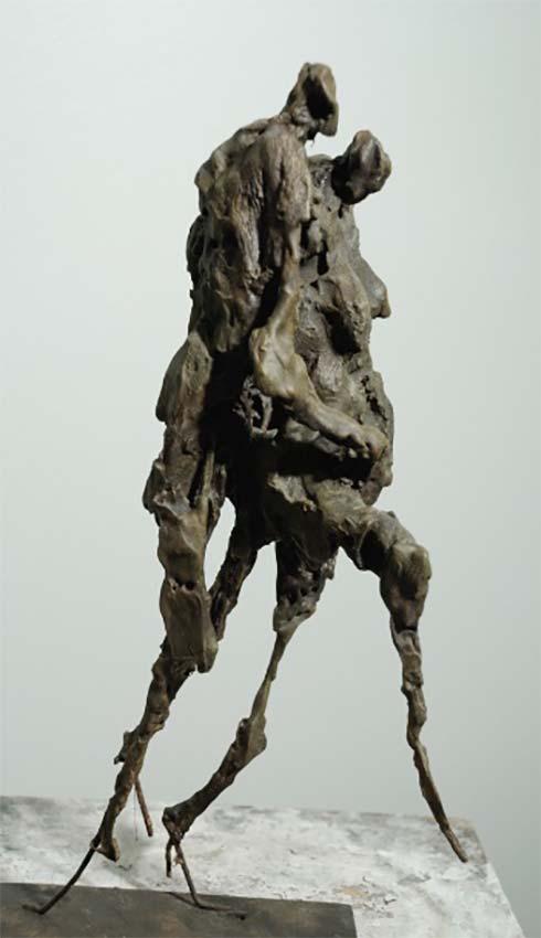 Sculpture Gaëtane Passeron © Photo APEVDC