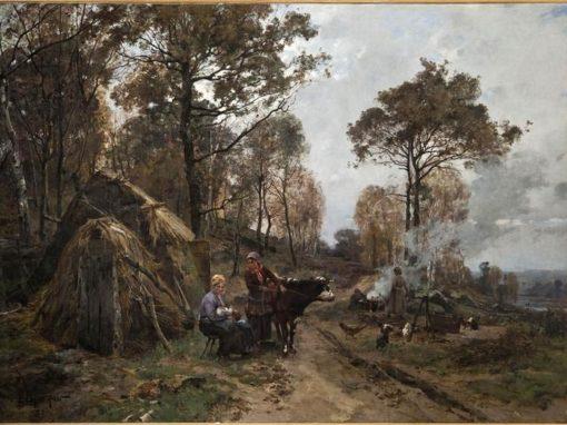 Peintre Emile Charles Dameron (1848 – 1908)