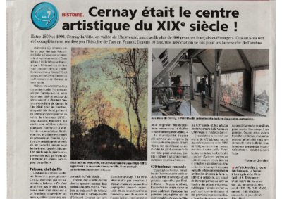 Cernay était le centre artistique du XIXème siècle