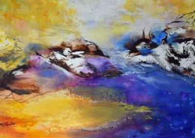 ©Blanchet Monique Captivant toile 80x60cm