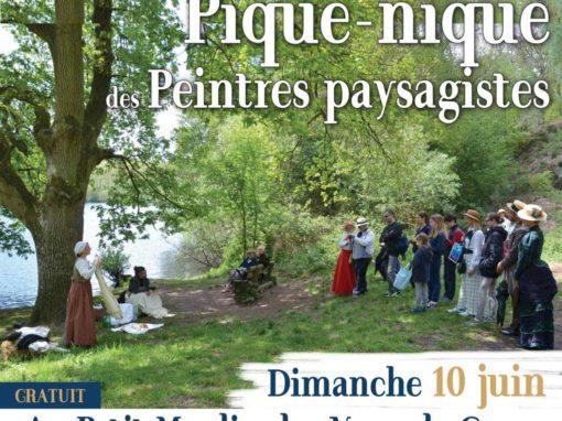 Pique-nique des peintres paysagistes au Vaux de Cernay - Entrée libre