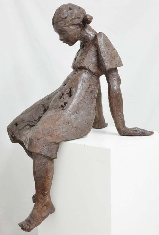 Louise Bronze 45cm © Danièle Dekeyser