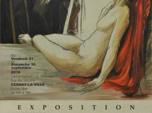 "Exposition Cernay la Ville 2018 ""Artistes en Vallée de Chevreuse"" septembre 2018"