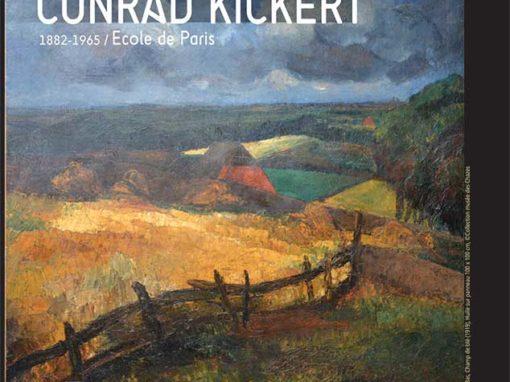 Exposition Conrad Kickert à l'Abbaye des Vaux de Cernay
