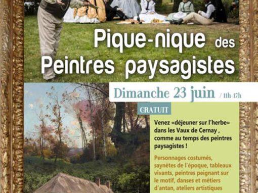 Pique-nique au Petit Moulin des Vaux de Cernay