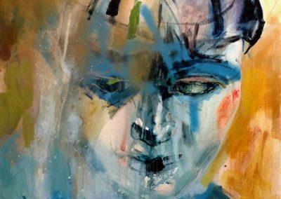 Un qui est Izolda Pietrusiak Acrylique sur toile 92x73